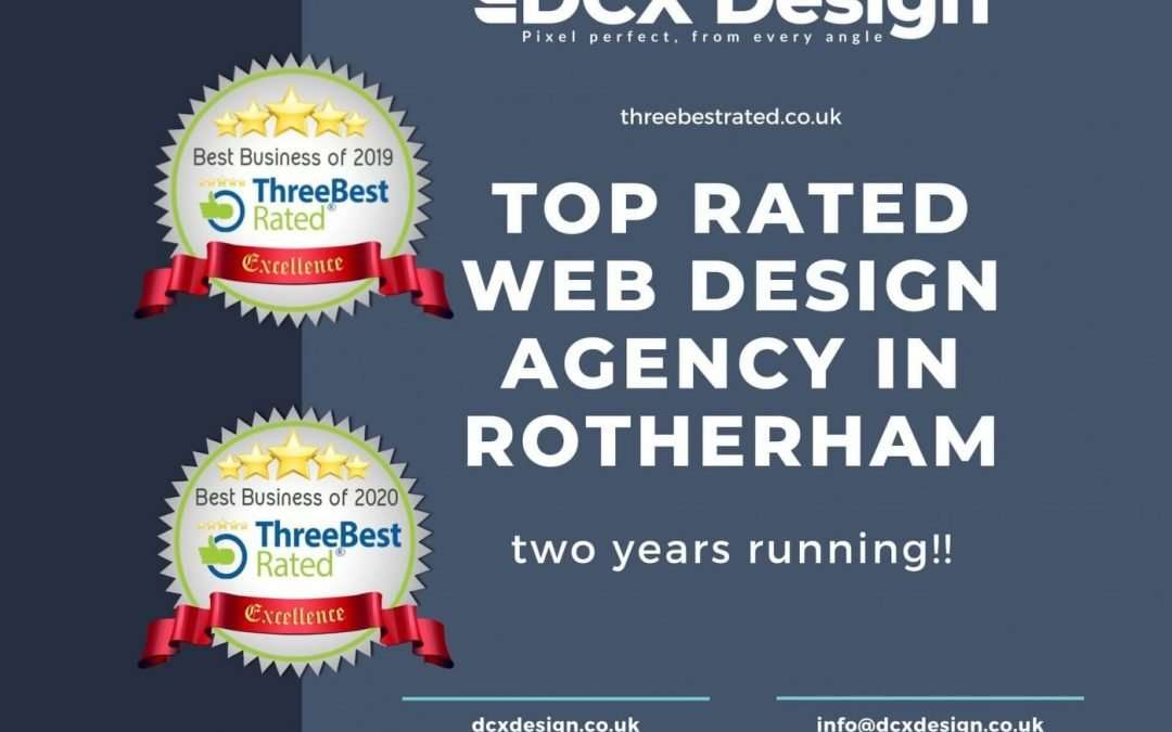 Top rated web designer in Rotherham!